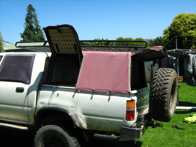 VIC Hilux Canopy With Rack Drawers Chainsaw Playstation 3