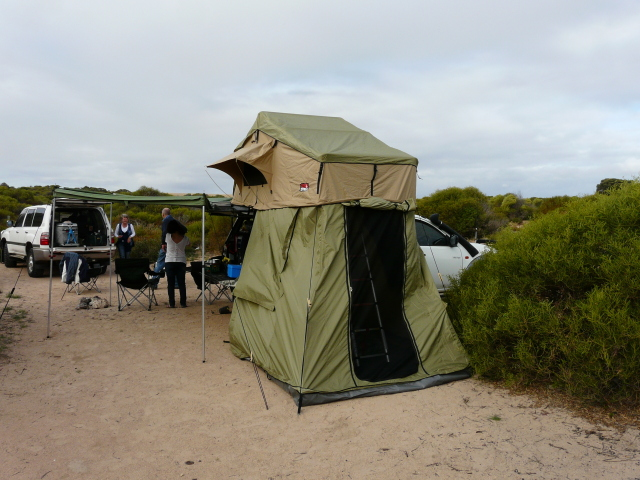 You can install a rooftop tent anyway you like mate. Heres a pic of mine on my triton. & Roof top tents ? Any good ????? | Page 4 | 4x4Earth