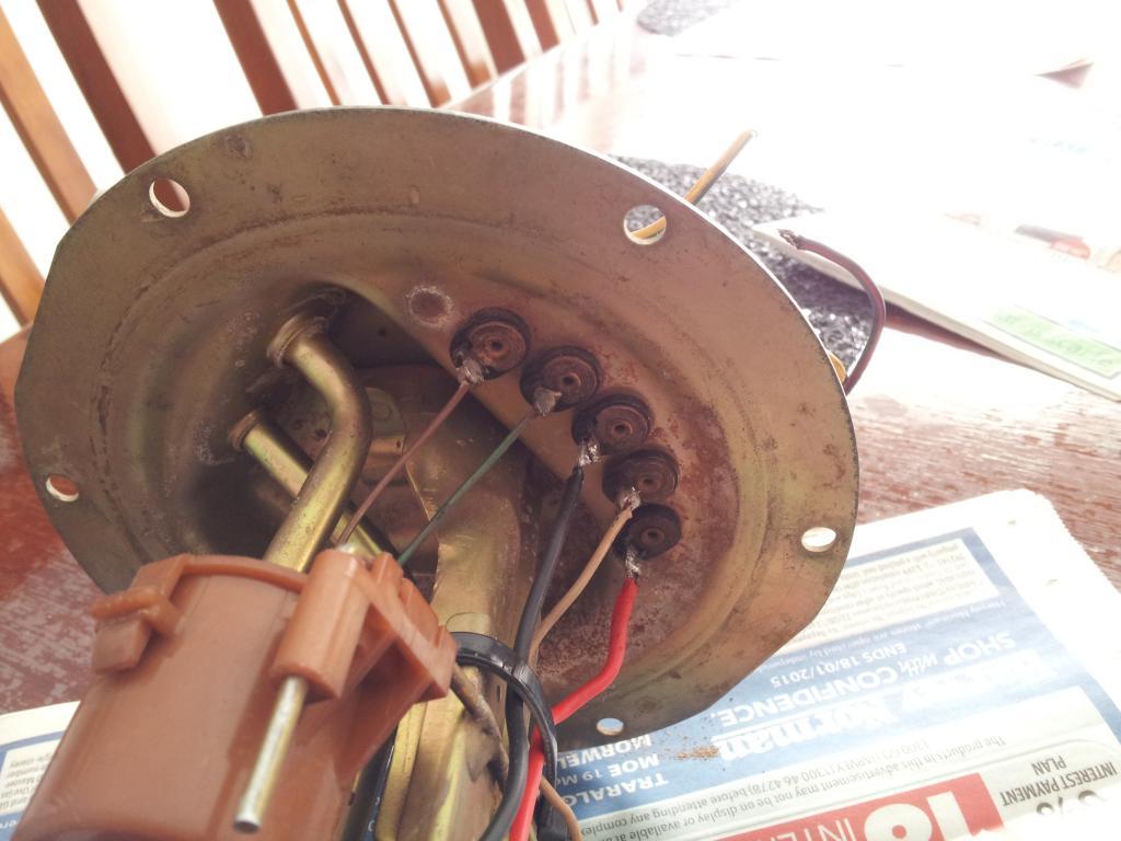 Fuel Sender Wiring Connection Gu 45 Petrol 4x4earth Tb42 Efi Diagram Img