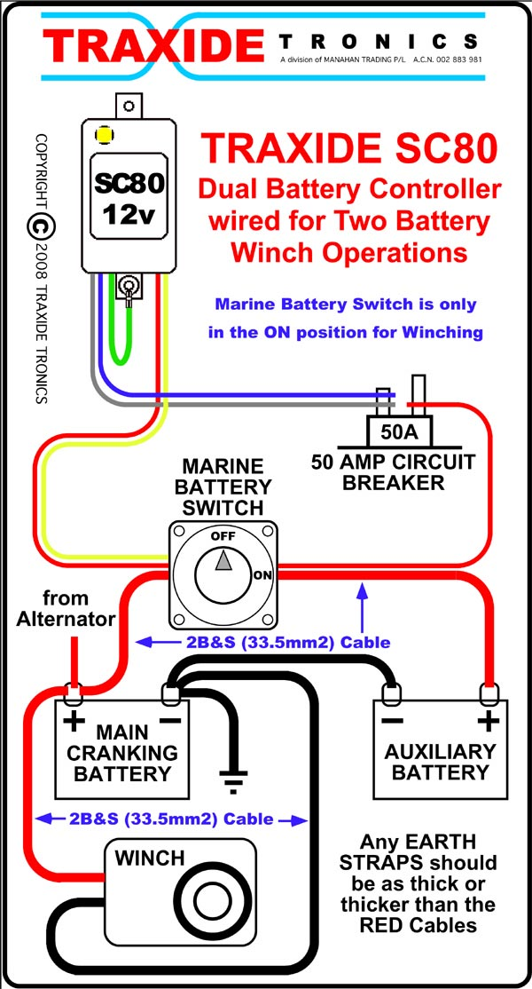 winch 2nd battery isolation necessary 4x4earth. Black Bedroom Furniture Sets. Home Design Ideas