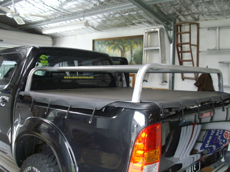 But I decided that I wanted a trailer to go with the tent set up. & Toyota Hilux 2007 | 4x4Earth