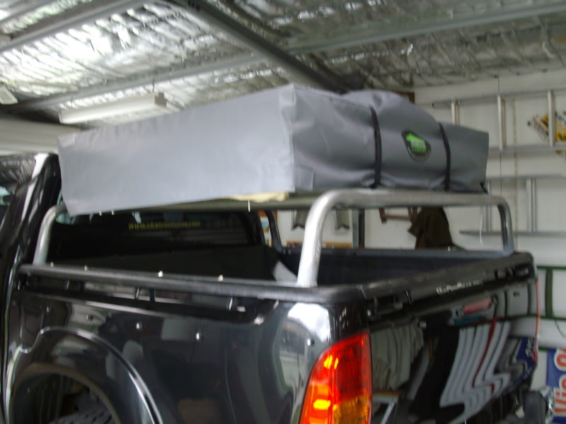 Here is a couple of photos of my set up that can be used on the ute or on the trailer & Rooftop Tents Are They Any Good | Page 3 | 4x4Earth