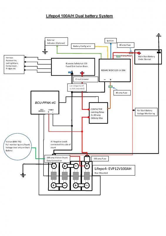second battery wiring diagram
