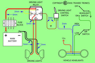 driving lights 4x4earth this diagram might help