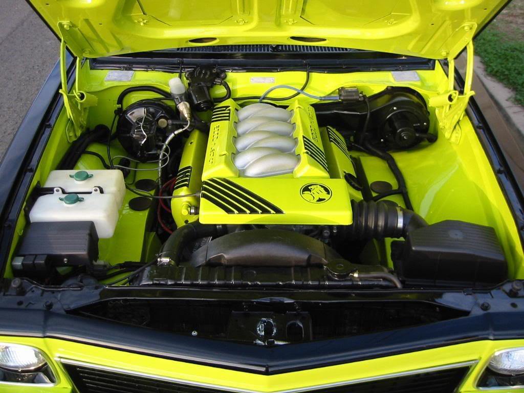 how to make your engine bay look good
