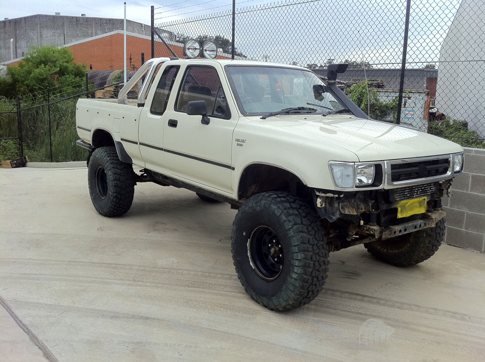 toyota hilux extra cab turbo diesel 1989 4x4earth. Black Bedroom Furniture Sets. Home Design Ideas