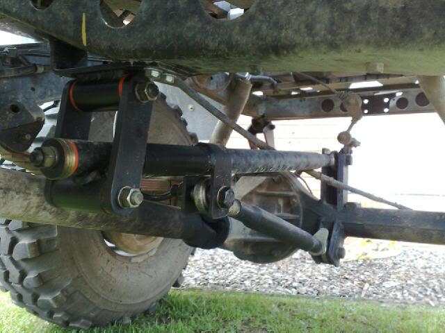 Traction Bar 4x4earth